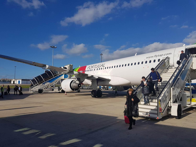 plane portugal