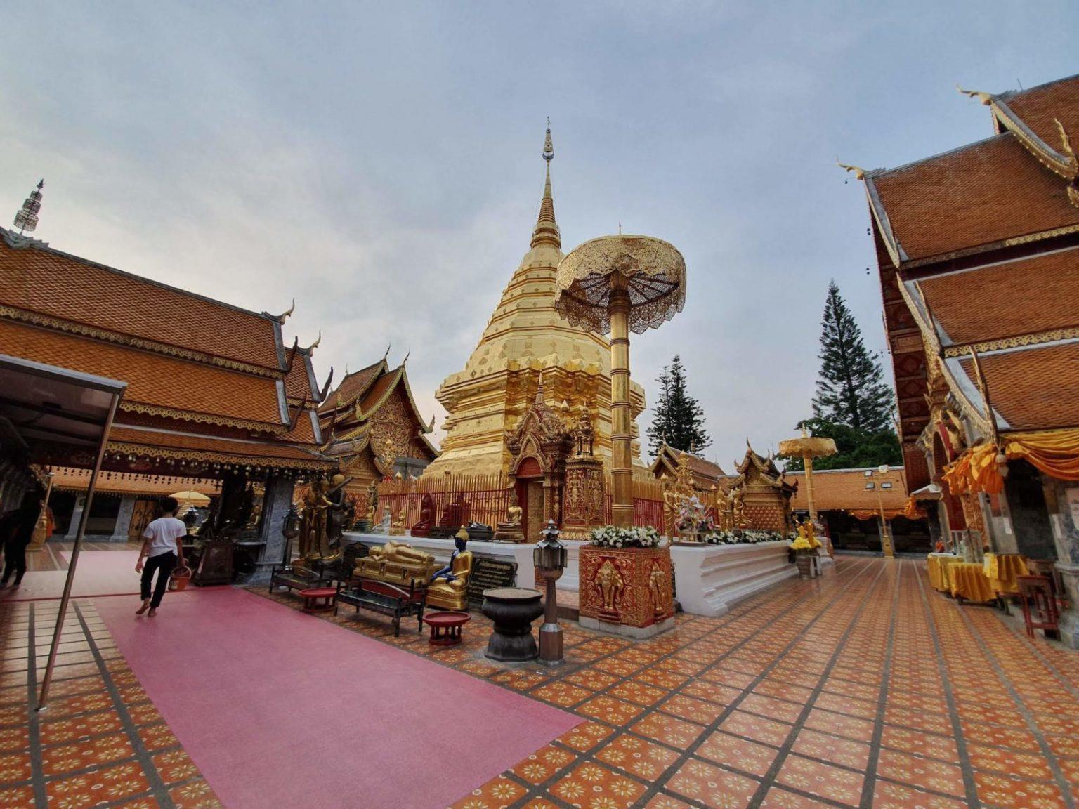 chiang mai doi su thep temple