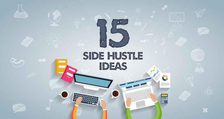 15 side hustle ideas cover