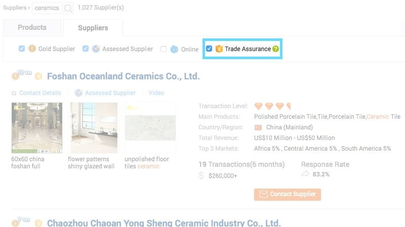 product manufacturing tradeassurance