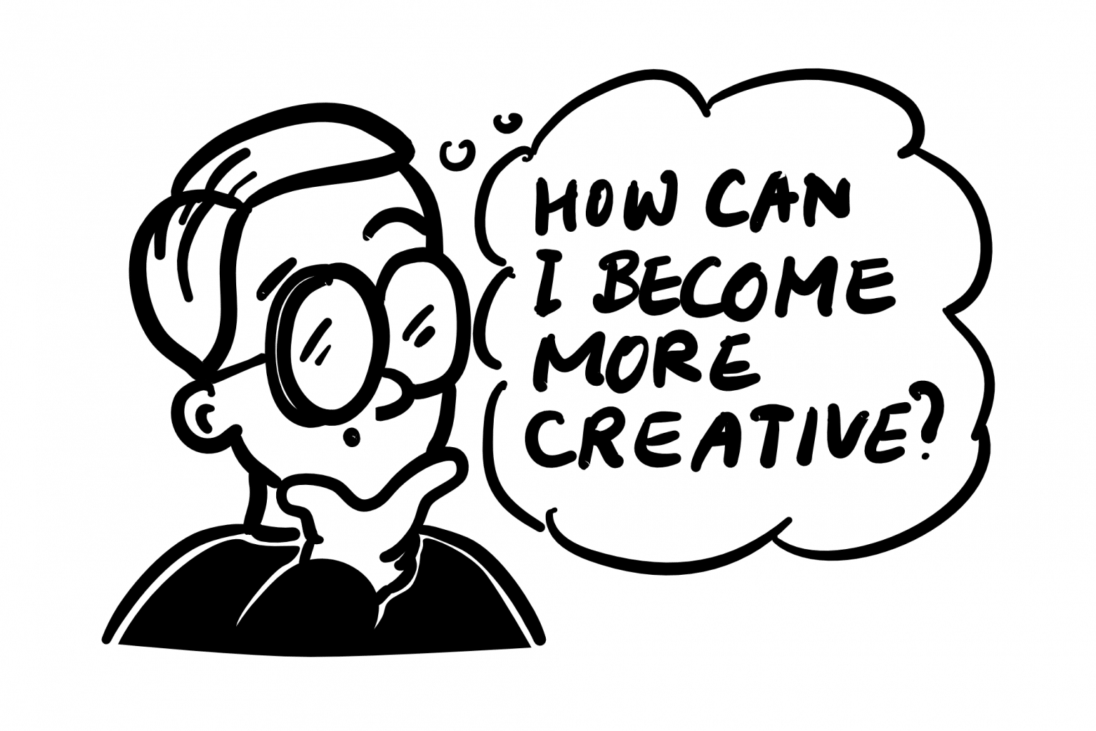 how to become more creative