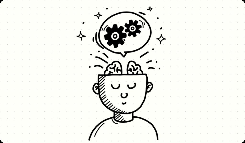 img brain thinking process