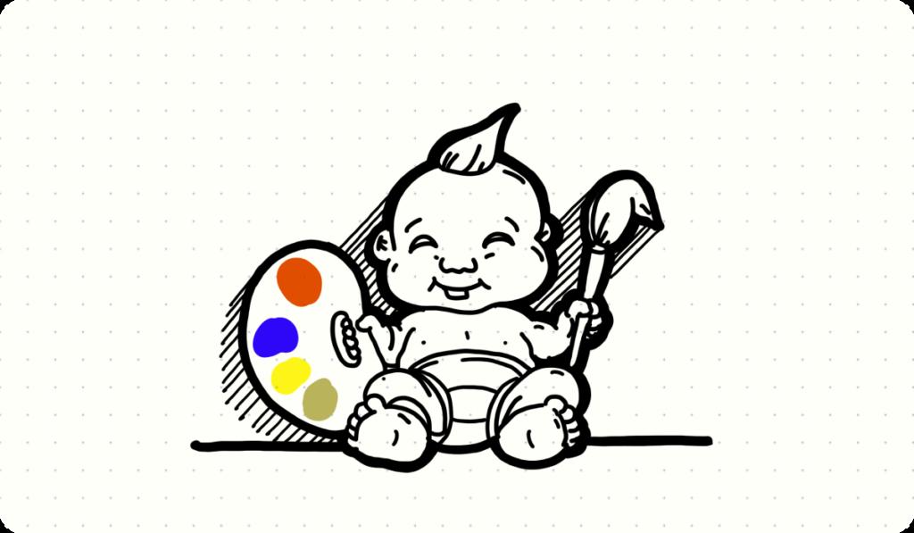 img creativity born talent
