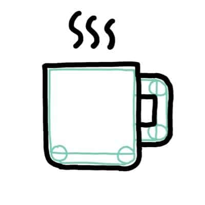 sketch ideas quickly coffee mug