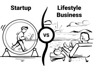 Startup vs lifestyle business