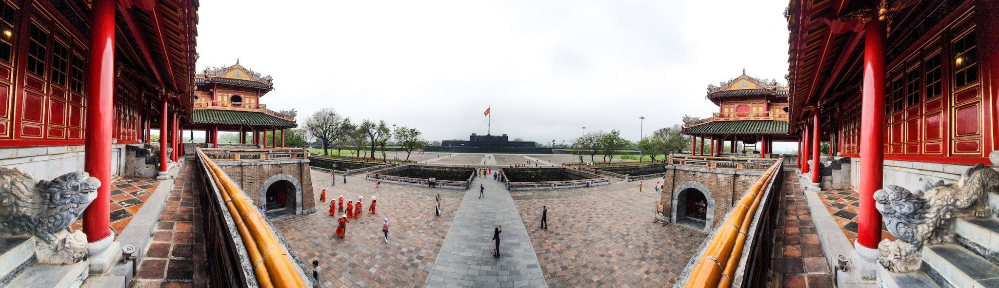 Hue Imperial City Panorama
