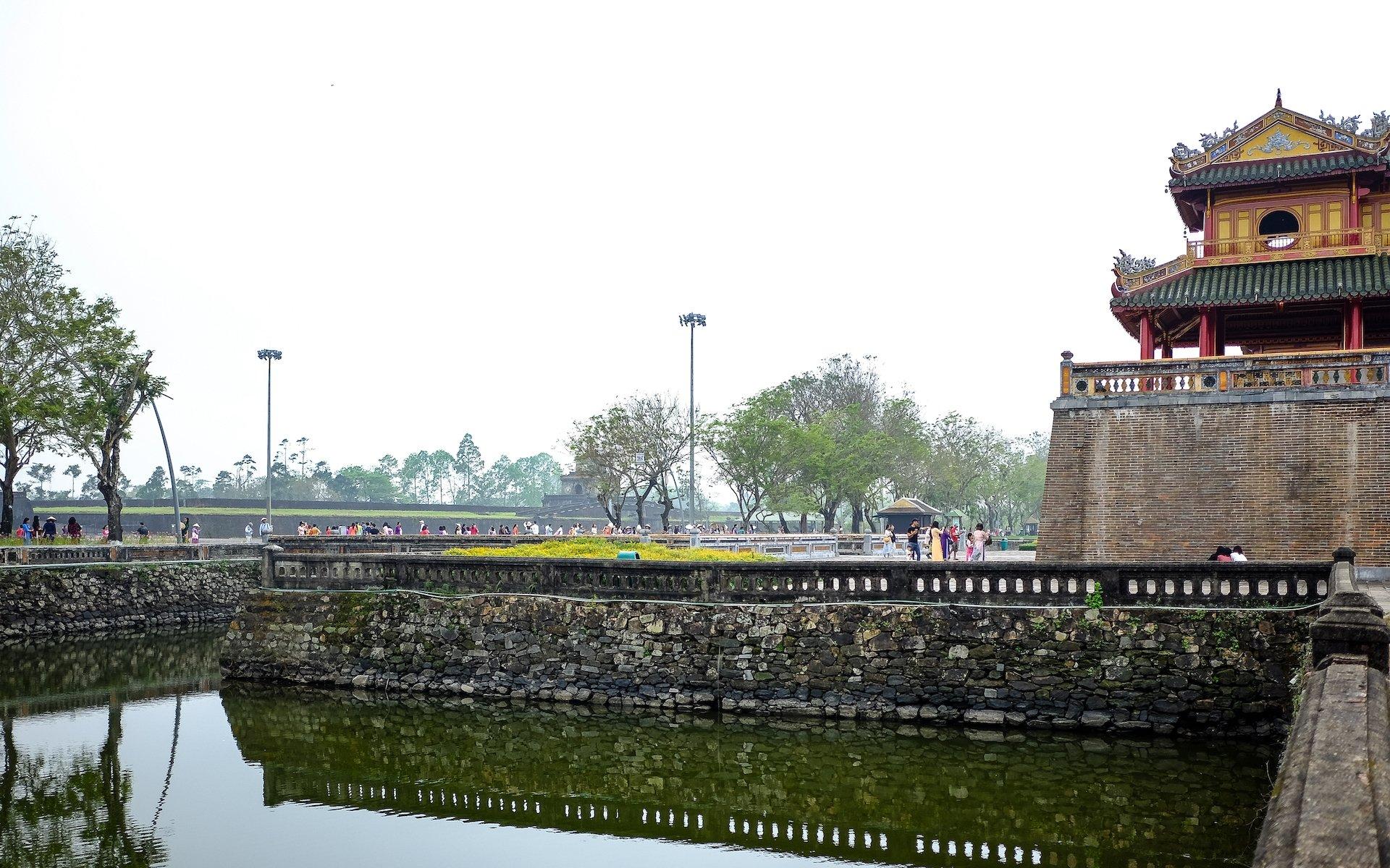 Hue Imperial City Walls