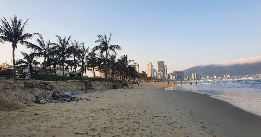 Da Nang January 2021 Beach walk